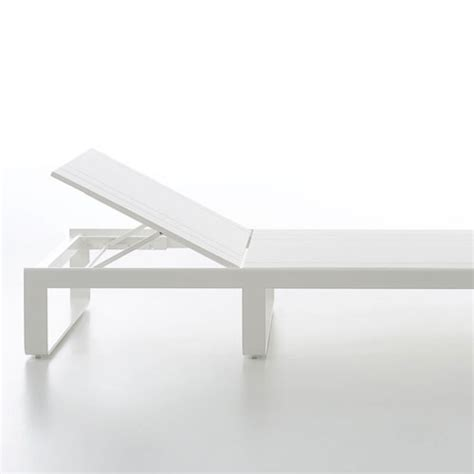 mfg corp 1 count white resin stackable patio chaise