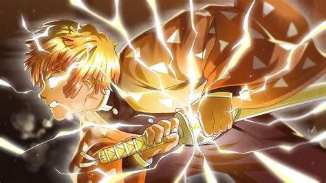 zenitsu anime pic hd wallpapers wallpaper cave