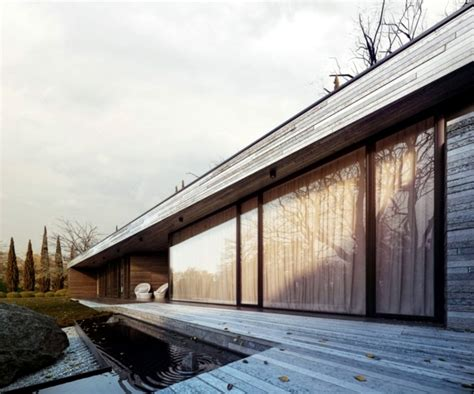 beautiful    design   facades  wood