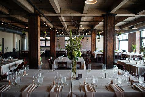 feasts  fancy loft space urban courtyard wedding