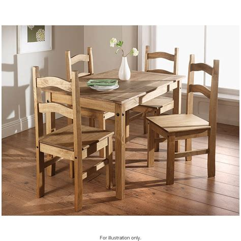 Rio 5 Piece Dining Set Dining Furniture Sets B&M