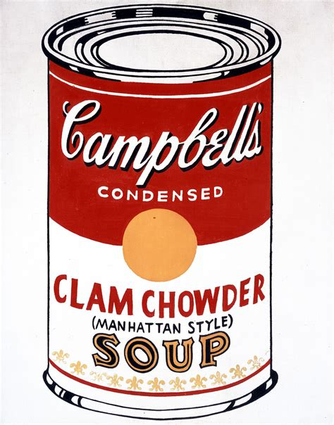 Campbell's Soup Can (Clam Chowder - Manhattan Style ...