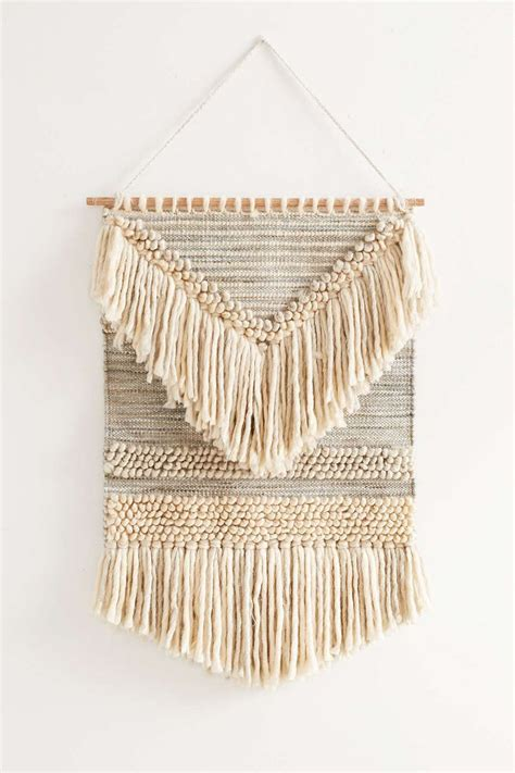 Diy Loom Hand Woven Wall Hanging 10  Home Design  Home