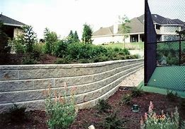 Image result for curved block wall