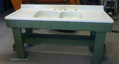 potting bench with sink a new potting bench organized clutter