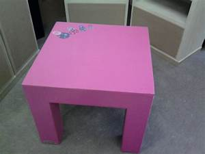 Table Basse Enfant : une nouvelle table basse pour enfant mobilier en carton et palettes en r gion centre val de loire ~ Teatrodelosmanantiales.com Idées de Décoration