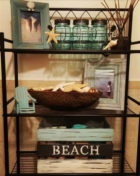 This Is The Start Of My Beach Theme Bathroom It Will