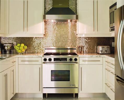 Mirrored Kitchen Backsplash Tile Pictures  Home Interior