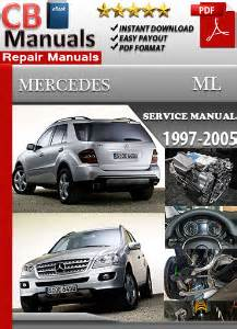 auto repair manual online 2005 mercedes benz c mercedes benz ml 1997 2005 service repair manual ebooks automotive