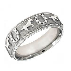 tungsten engagement rings for horseshoe wedding band cosa jewelers