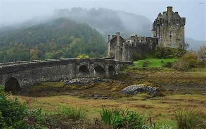 Castle Dunnottar Donan Eilean Castles Wallpapers Medieval