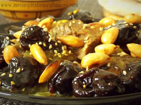 cuisine algeroise tajine hlou aux pruneaux plat ramadan le cuisine de samar