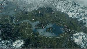 The Elder Scrolls V: Skyrim GAME MOD A Quality World Map v