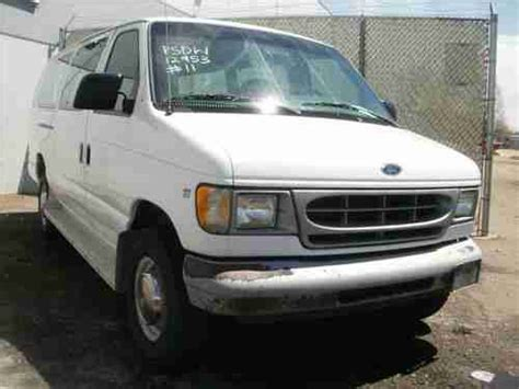 old car owners manuals 2000 ford econoline e350 parking system buy used 2000 ford e350 xl super duty van asset 12953 in denver colorado united states