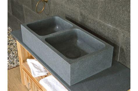 evier de cuisine en granite évier de cuisine en granit véritable aquadeos à poser