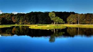 best nature wallpaper hd water reflection - Background ...