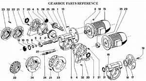 Muir Anchor Winch Gearbox