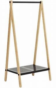 Petit Portant Vetement : portant toj petit mod le larg 74 cm gris normann copenhagen ~ Nature-et-papiers.com Idées de Décoration