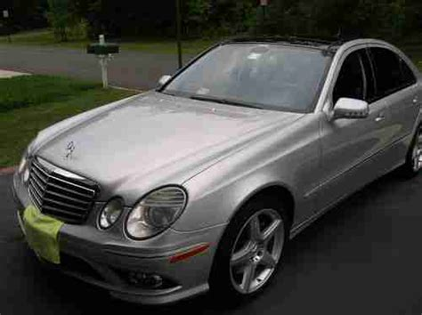 Find Used 2008 Mercedes Benz E350 4matic Amg Sport Package