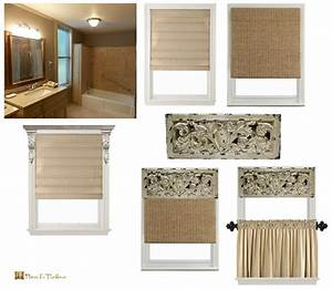 Decorative reflection and anticipation places in the home for Window dressing ideas for bathrooms