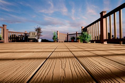 evergrain decking vs trex grain 174 composite decking weekes forest products