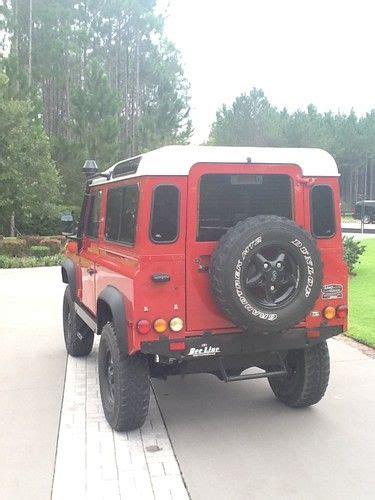 land rover defender 4 door sell used 1997 land rover defender 90 2 door 4 0l in