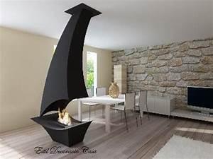 Cheminée Centrale Prix : cheminee centrale au gaz ~ Premium-room.com Idées de Décoration