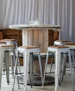 Modele De Table Basse A Faire Soi Meme : 1001 id es que faire avec un touret des inspirations r cup ~ Melissatoandfro.com Idées de Décoration