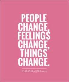 People Change Quotes and Sayings
