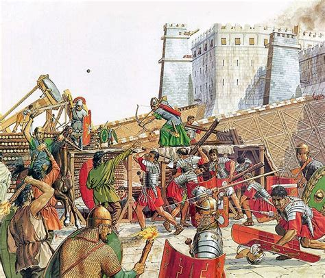 siege h m siege of jerusalem 70 ad weapons and warfare