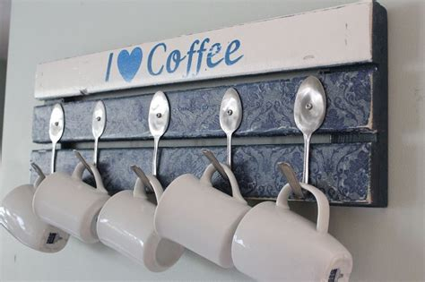 coffee mug rack 21 diy coffee racks to organize your morning cup of joe