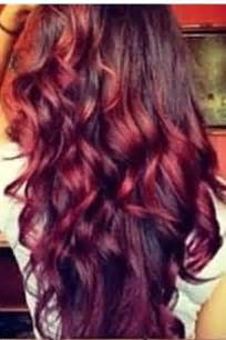 Red Blonde Ombre Hair
