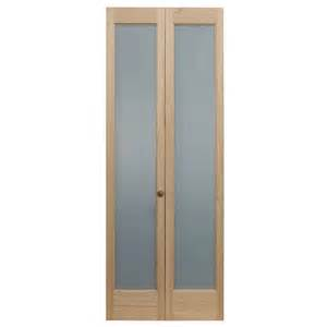 pinecroft 30 in x 80 in full frosted glass pine interior