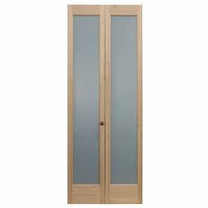 pinecroft 36 in x 80 in full frosted glass pine interior With 36 frosted glass interior door