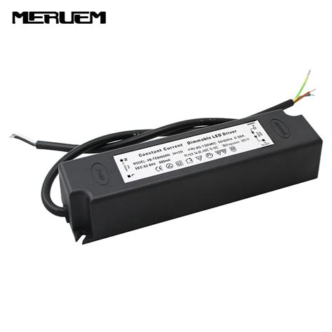 dimmable led driver dimming led power supply 48w led lighting transformer for panel downlight