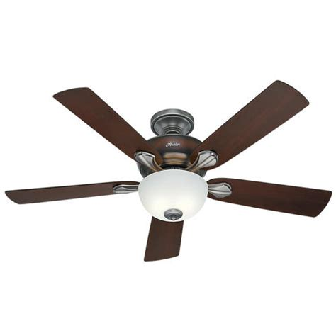 "Hunter Mayse 52"" Antique Pewter Ceiling Fan At Menards®"