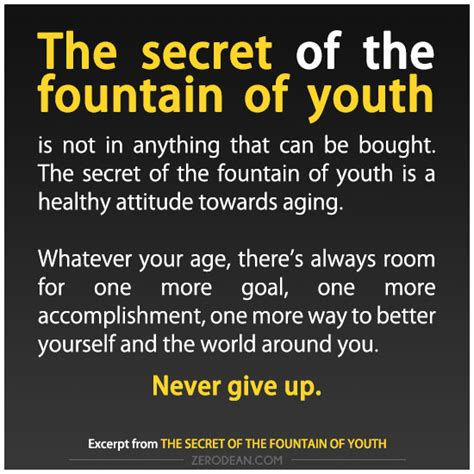 Funny Fountain Of Youth Quotes