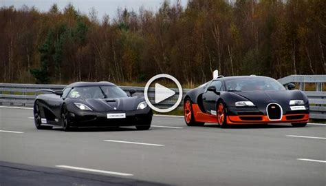 Race Of The Century-bugatti Veyron Grand Sport Vitesse Vs