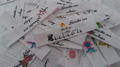 Selber Nähen Tipps by Diy Labels Labels Einn 228 Hen Label Selber Machen Do It