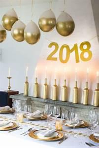 Silvester Deko 2017 : happy new year silvester deko aperitif 2017 um den tisch ~ Frokenaadalensverden.com Haus und Dekorationen