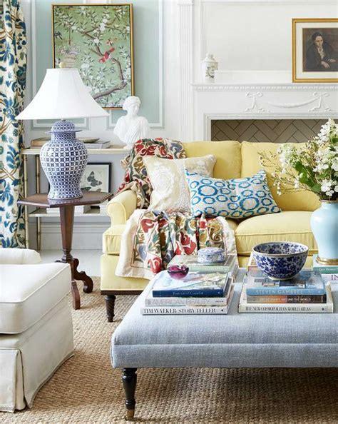 interior design style quiz blue  white living room