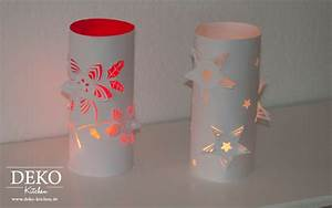 Deko Aus Papier : diy weihnachtliche 3d windlichter deko kitchen ~ Lizthompson.info Haus und Dekorationen