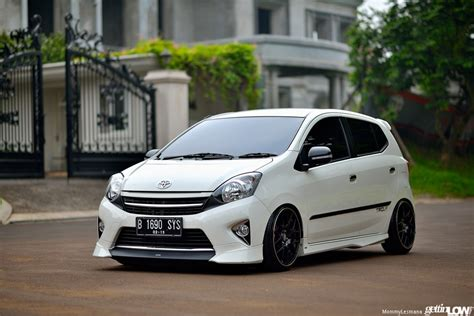 Toyota Agya Trd 2017 Modifikasi by Gettinlow Anugraha S 2014 Toyota Agya Trd