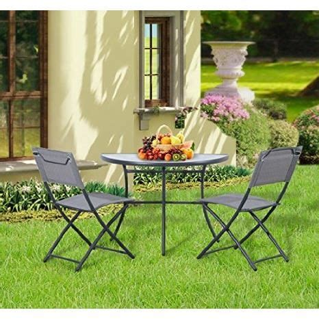 chaise balcon salon de jardin table de balcon demi lune 2 chaise achat