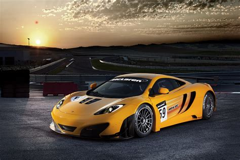 Revised Mclaren Mp4-12c Gt3 Racer To Debut At Goodwood