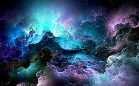 Wallpaper Abstract Clouds Colorful 5k Abstract 4244