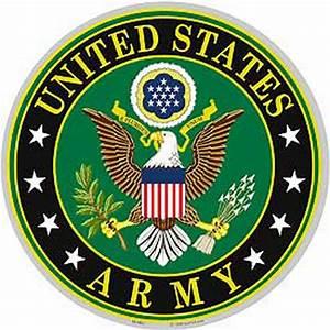 Al's Army Navy   12-Inch Army Logo Decal