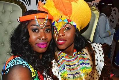 Zulu Traditional South Africa Bride African Wear