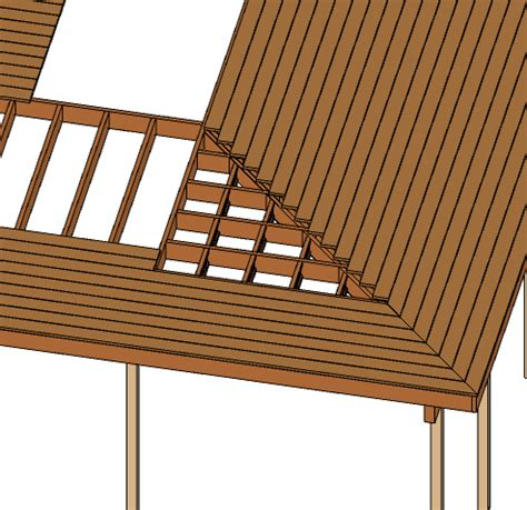 how to build a l l shaped porch framing building construction diy