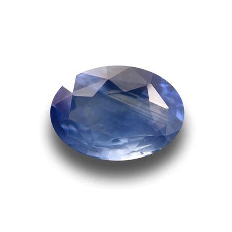 2 5 carats blue sapphire gemstone new